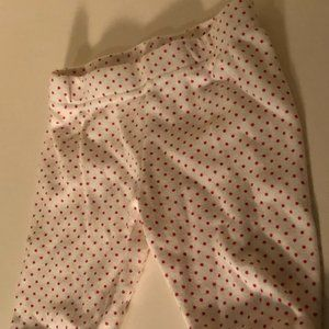 ** 8 for $25 Indigo Petit Pehr Dot Pants Size 0-3M